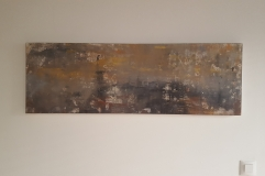 """""""After the Storm"""" 120 x 40 cm"""