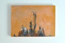 """City Love"" 70 x 50 cm"