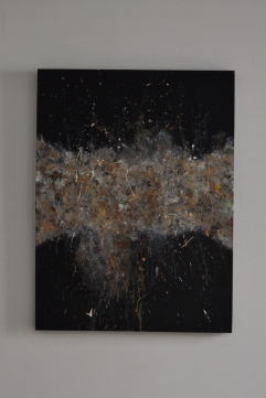 """Explosion in the Dark"" 80 x 60 cm"