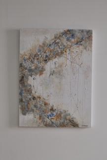 """""""Secret Feelings"""" 80 x 60 cm"""