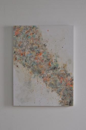 "SOLD ""Beautiful Storm"" 80 x 60 cm"