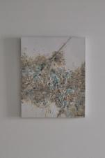 """Silver Lining"" 50 x 40 cm"