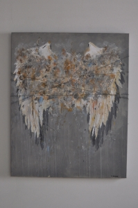 """My Angelwings"" 100 x 80 cm"