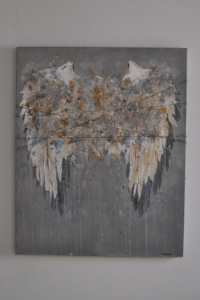 """""""My Angelwings"""" 100 x 80 cm"""