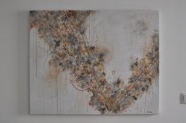 "SOLD ""Custom Piece"" 100 x 80 cm"