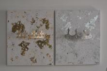 """Set """"King"""" & """"Queen"""" 60 x 50 cm"""
